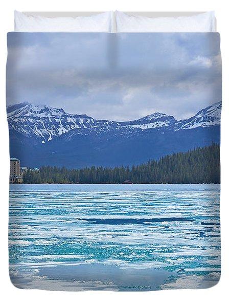 Chateau Lake Louise #2 Duvet Cover