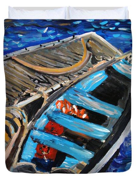 Chatham Blue Duvet Cover