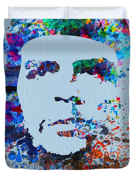 Che Guevara Watercolor Duvet Cover