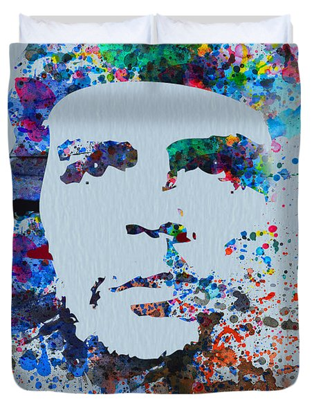 Che Duvet Cover by Naxart Studio