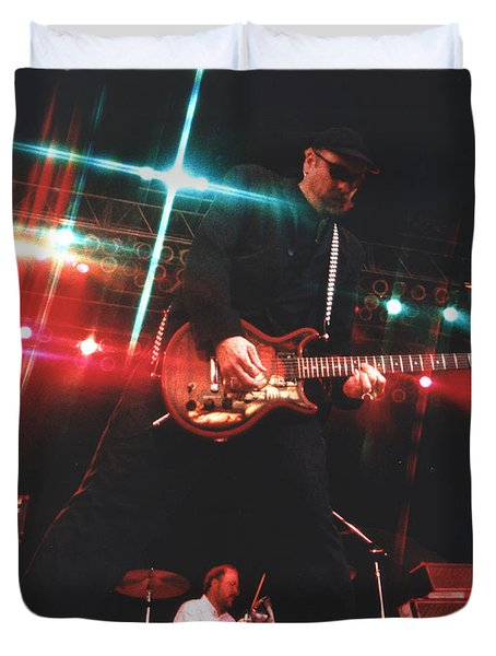 Cheap Trick-95-rick-3 Duvet Cover by Gary Gingrich Galleries