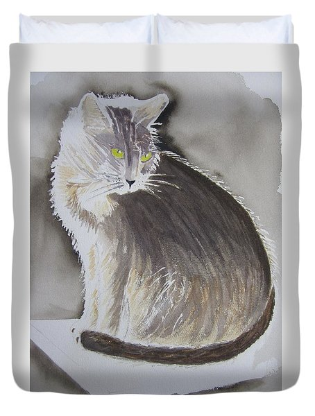 Cheeky Cat  Duvet Cover