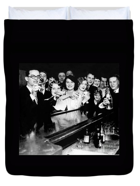 Cheers To You Duvet Cover by Jon Neidert