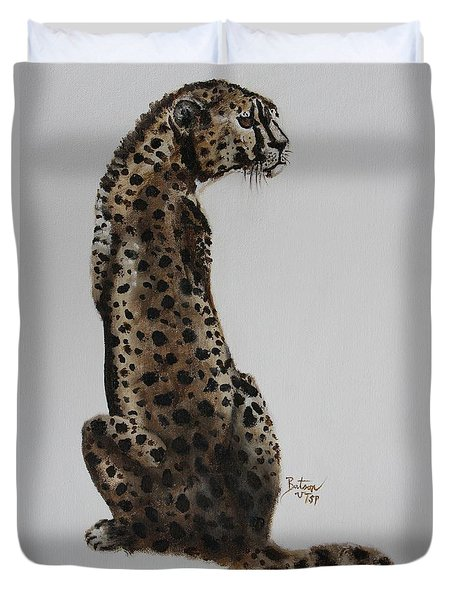 Cheetah - Spotted Warrior Duvet Cover