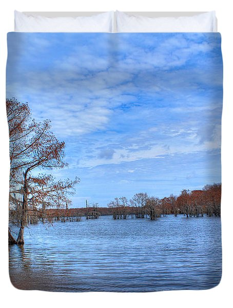 Cheniere Lake Waterscape Duvet Cover