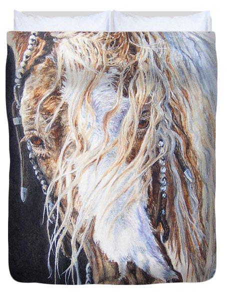 Cherokee Rose Gypsy Horse Duvet Cover
