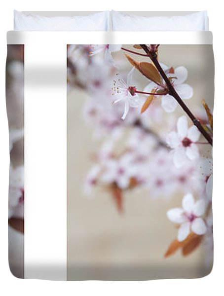 cherry blossom II Duvet Cover by Hannes Cmarits