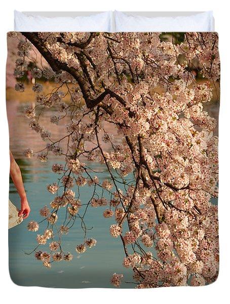 Cherry Blossoms 2013 - 082 Duvet Cover