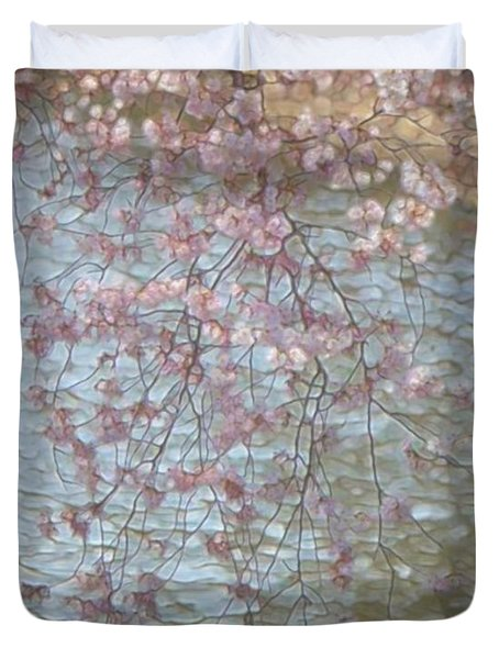 Cherry Blossoms P2 Duvet Cover