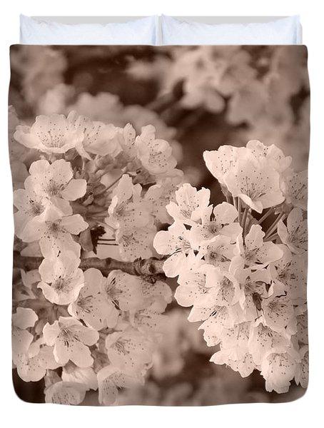 Cherry Tree Blossom Duvet Cover