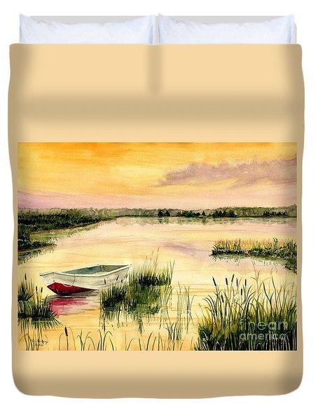 Chesapeake Marsh Duvet Cover
