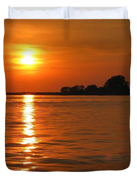Chesapeake Sun Duvet Cover by Photographic Arts And Design Studio