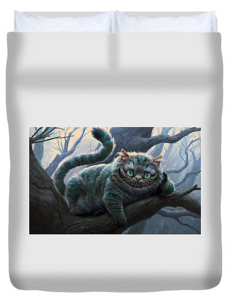 Cheshire Cat Duvet Cover