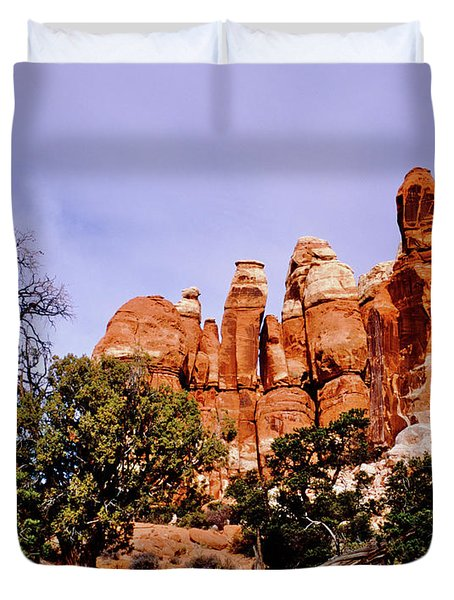 Chesler Park Pinnacles Duvet Cover