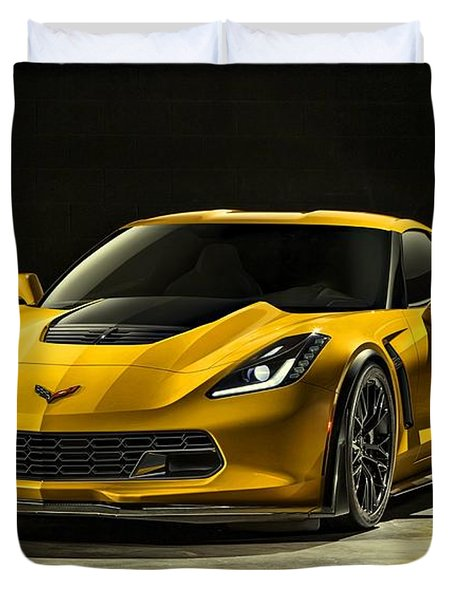 Chevrolet Corvette Z06  Duvet Cover