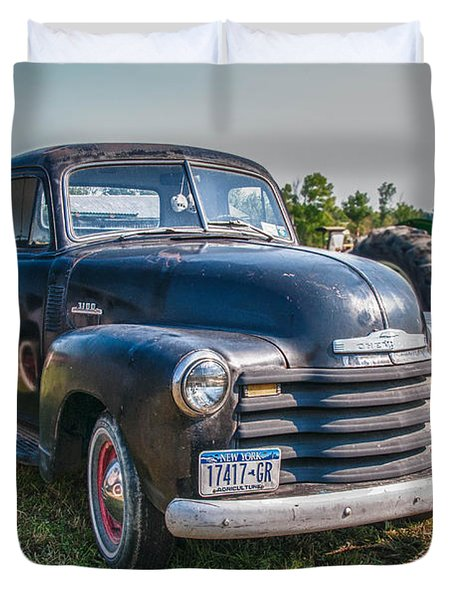 Chevy 1100 Duvet Cover by Guy Whiteley