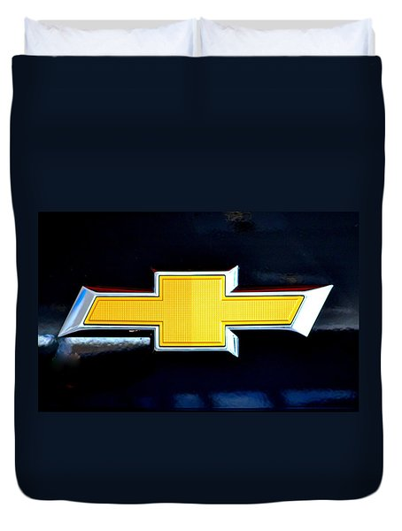 Chevy Bowtie Camaro Black Yellow Iphone Case Mancave Duvet Cover