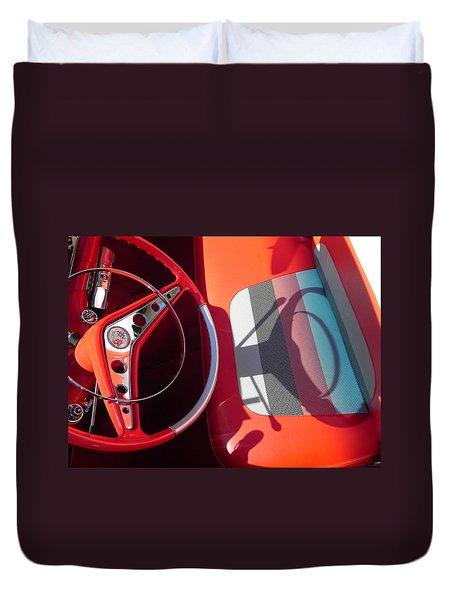 Chevy Impala Duvet Cover