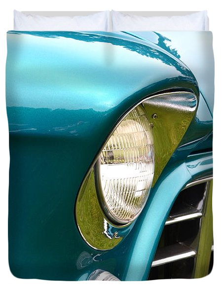 Chevy Pickup Duvet Cover by Dean Ferreira