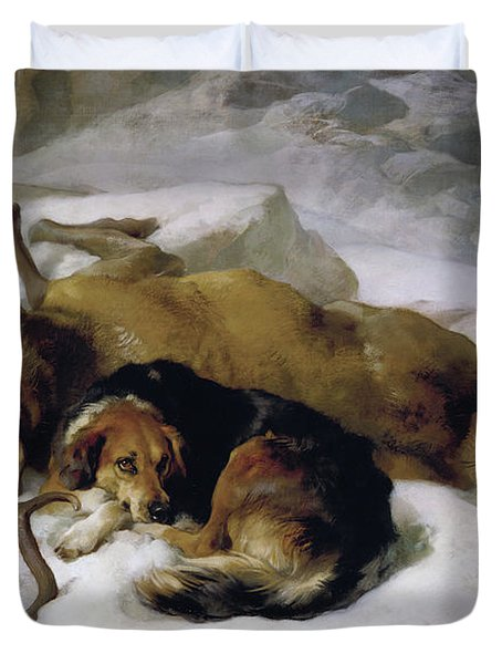 Chevy Duvet Cover by Sir Edwin Landseer
