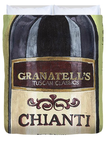 Chianti And Friends Panel 1 Duvet Cover