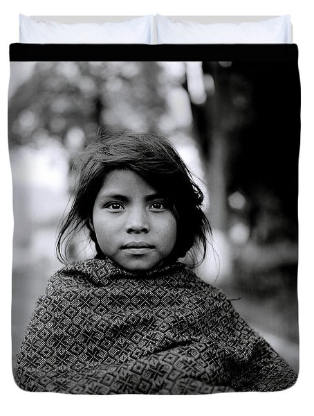 Chiapas Girl Duvet Cover