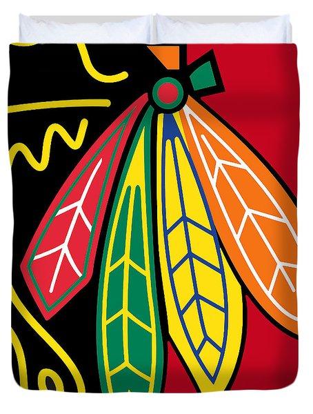 Chicago Blackhawks 2 Duvet Cover