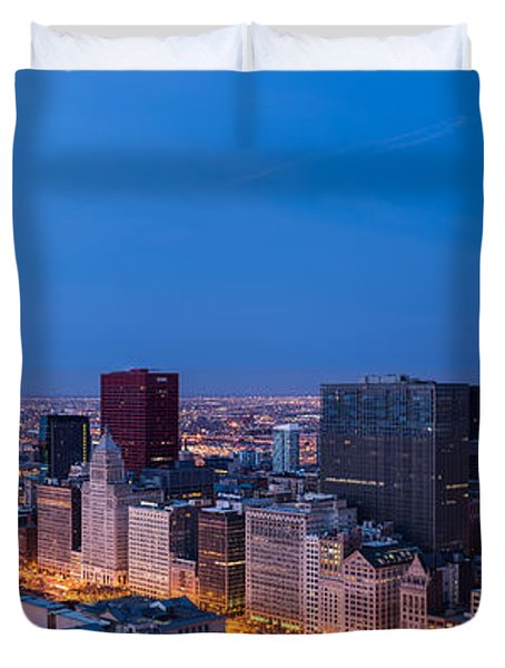 Chicago Dawn Duvet Cover