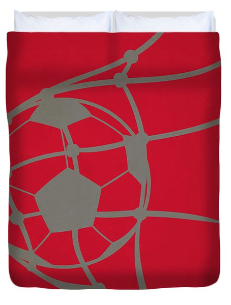 Chicago Fire Goal Duvet Cover