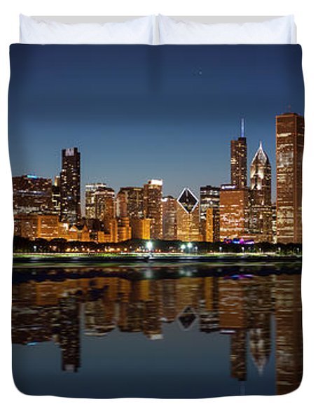 Chicago Reflected Duvet Cover