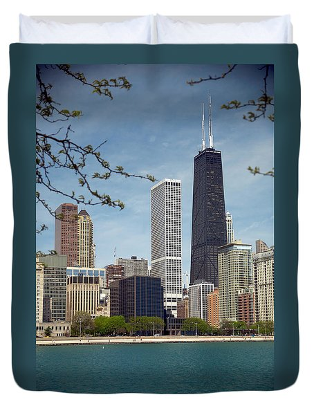 Chicago Spring Duvet Cover