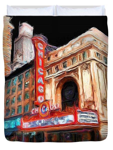Chicago Theater - 23 Duvet Cover