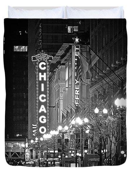 Chicago Theatre - Grandeur And Elegance Duvet Cover