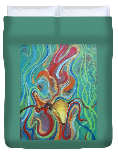 Chiconetti Mask Duvet Cover