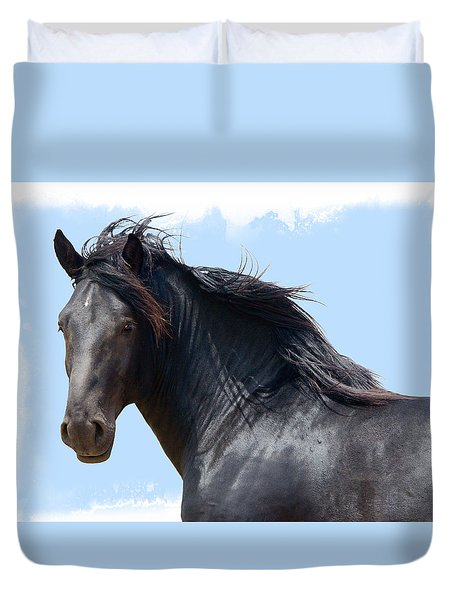 Chief - Windy Portrait Series 3 Duvet Cover