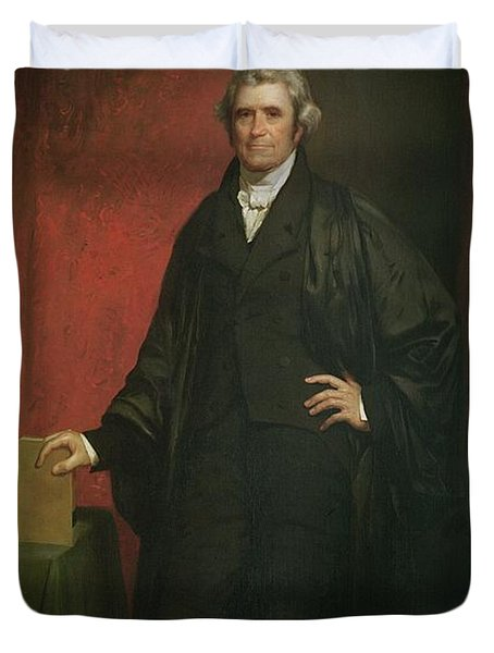 Chief Justice Marshall Duvet Cover