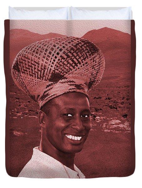 Chief Of The Desert Wf Duvet Cover