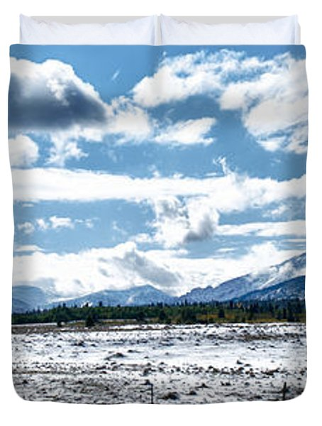 Chief Of The Mountains Duvet Cover