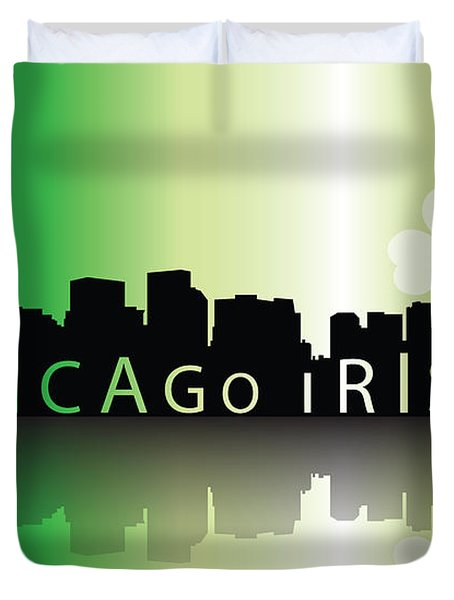 Chigago Irish Duvet Cover