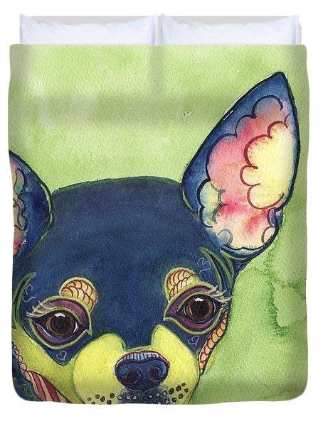 Chihuahua Duvet Cover