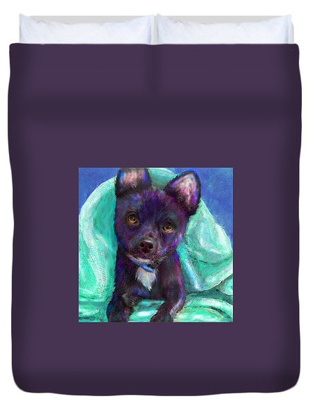Chihuaua Duvet Cover by Jane Schnetlage