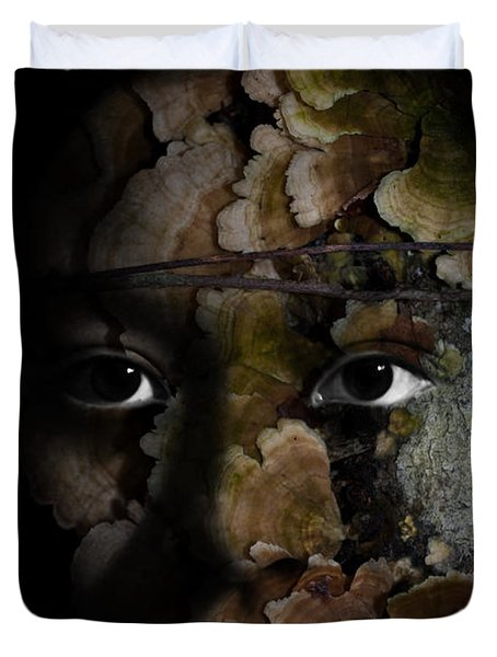 Child Of The Forest Duvet Cover by Christopher Gaston