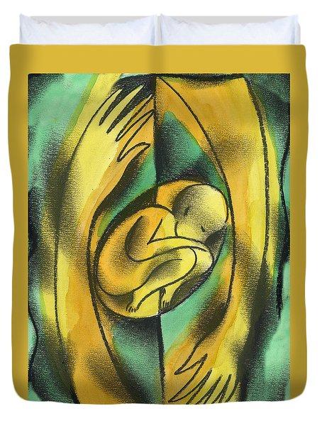 Childbirth Duvet Cover