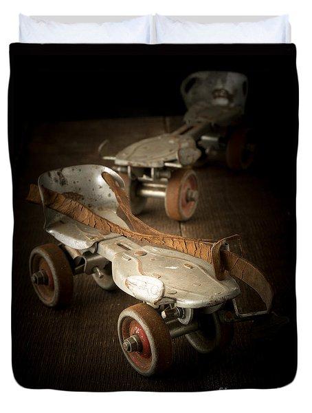 Childhood Memories Duvet Cover by Edward Fielding