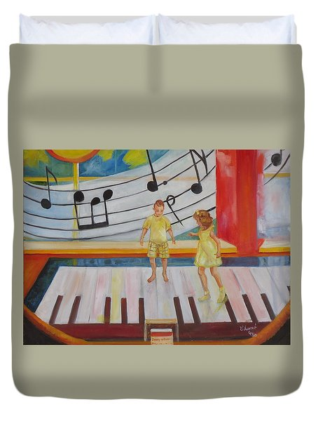 Childs Play Duvet Cover by Charme Curtin