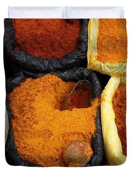 Chilli Powders 1 Duvet Cover