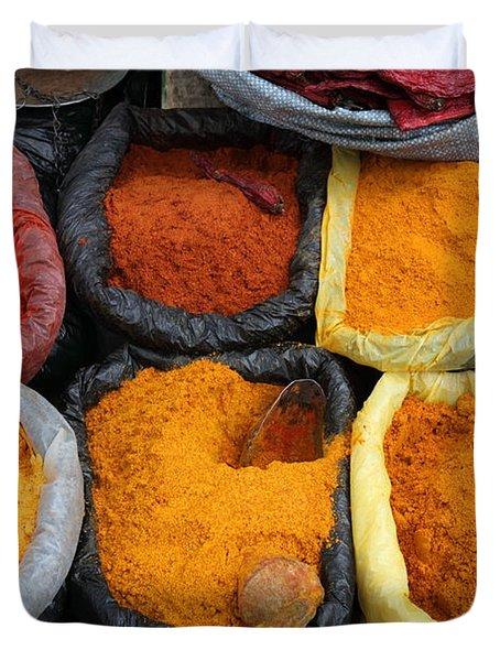 Chilli Powders 3 Duvet Cover