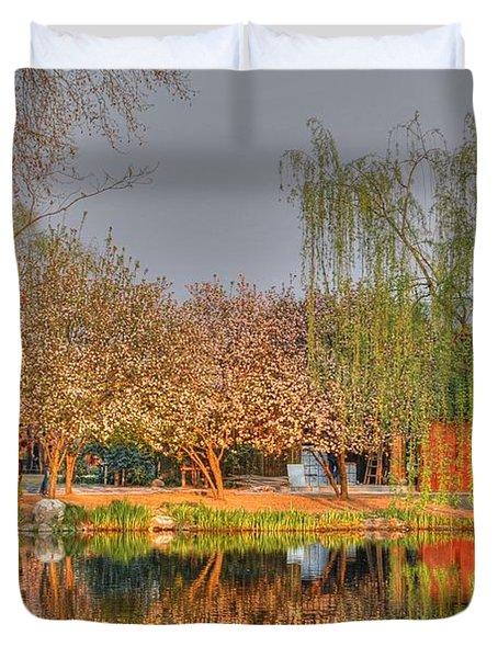 Chineese Garden Duvet Cover