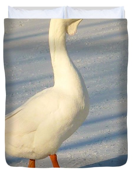 Chinese Goose Winter Duvet Cover
