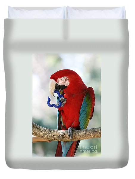 Chip Duvet Cover by Judy Whitton